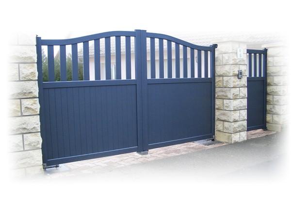 habitat discount portails et cl tures sur mesure portes de garage automatismes stores. Black Bedroom Furniture Sets. Home Design Ideas