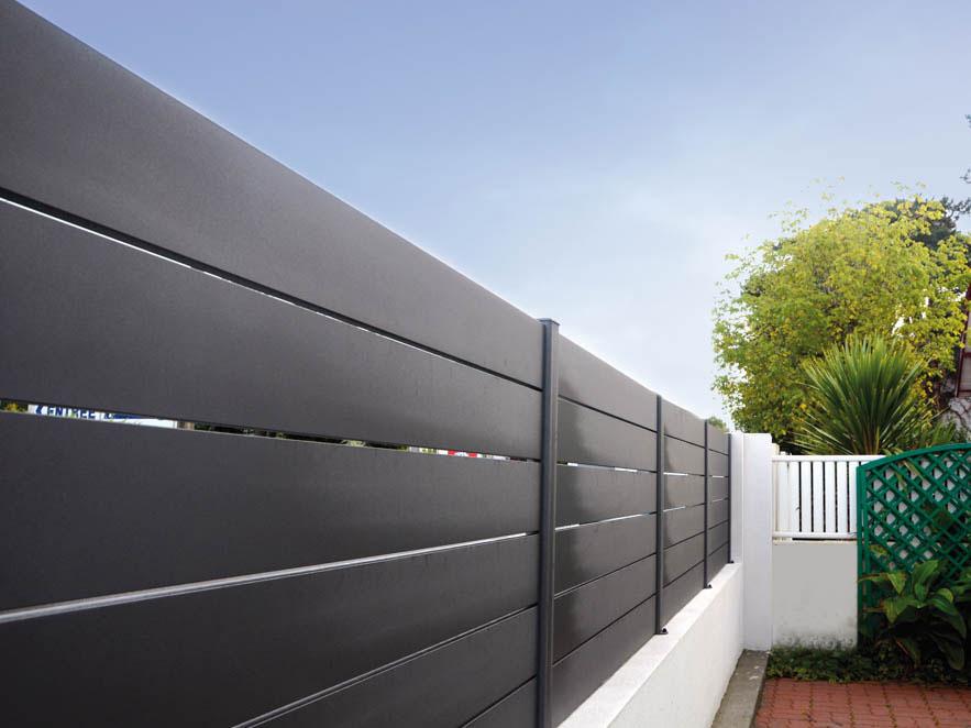 cl ture alu ajour e habitat discount cl tures alu. Black Bedroom Furniture Sets. Home Design Ideas